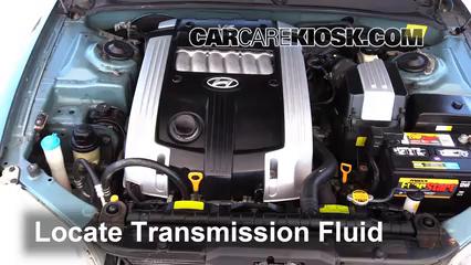 2004 Hyundai XG350 L 3.5L V6 Líquido de transmisión