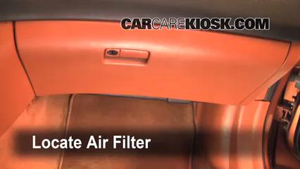 2004 Infiniti FX45 4.5L V8 Filtro de aire (interior)