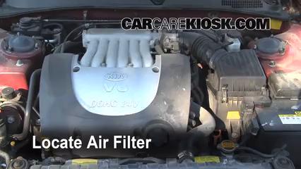 2004 Kia Optima EX 2.7L V6 Air Filter (Engine)