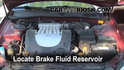2004 Kia Optima EX 2.7L V6 Brake Fluid