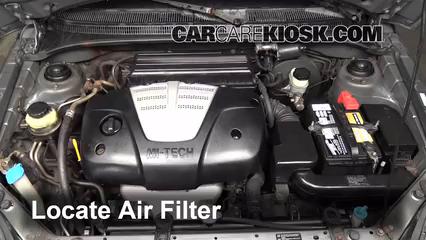 2004 Kia Rio 1.6L 4 Cyl. Air Filter (Engine)