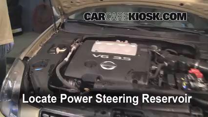 2004 Nissan Maxima SE 3.5L V6 Power Steering Fluid