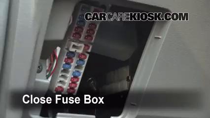 Interior Fuse Box Location: 2003-2007 Nissan Murano - 2004 Nissan Murano SL  3.5L V6   2005 Nissan Murano Fuse Box      CarCareKiosk