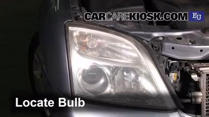 2004 Opel Signum Sport 2.0L 4 Cyl. Turbo Luces Luz de giro delantera (reemplazar foco)