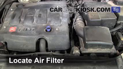 2004 Peugeot 206 XS 2.0L 4 Cyl. Turbo Diesel Air Filter (Engine)