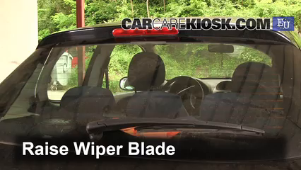2004 Peugeot 206 XS 2.0L 4 Cyl. Turbo Diesel Windshield Wiper Blade (Rear) Replace Wiper Blade