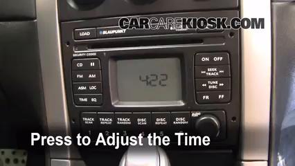 2004 Pontiac GTO 5.7L V8 Clock