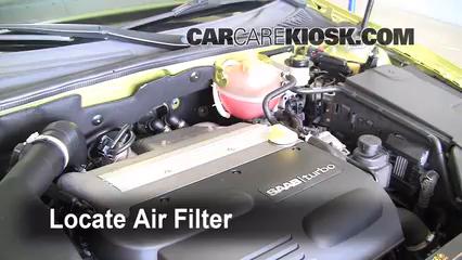 2004 Saab 9-3 Arc 2.0L 4 Cyl. Turbo Convertible (2 Door) Air Filter (Cabin)