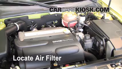 2004 Saab 9-3 Arc 2.0L 4 Cyl. Turbo Convertible (2 Door) Air Filter (Engine)