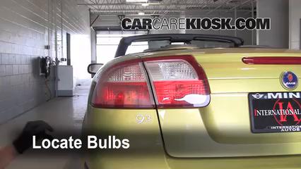 2004 Saab 9-3 Arc 2.0L 4 Cyl. Turbo Convertible (2 Door) Lights