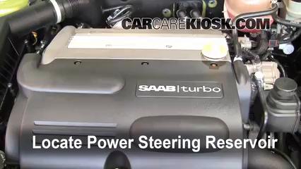 2004 Saab 9-3 Arc 2.0L 4 Cyl. Turbo Convertible (2 Door) Power Steering Fluid
