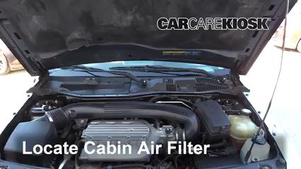 2004 Saturn Vue 3.5L V6 Filtro de aire (interior)
