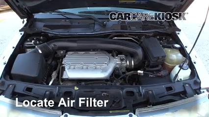 2004 Saturn Vue 3.5L V6 Filtro de aire (motor)