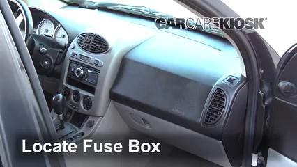 2004 Saturn Vue 3.5L V6 Fusible (interior)