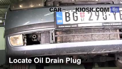 2004 Skoda Fabia Ten 1.2L 3 Cyl. Oil Change Oil and Oil Filter