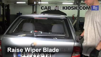 2004 Skoda Fabia Ten 1.2L 3 Cyl. Windshield Wiper Blade (Rear)