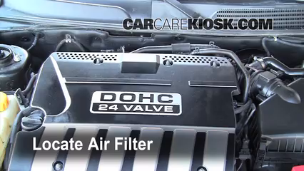 2004 Suzuki Verona LX 2.5L 6 Cyl. Filtro de aire (motor)