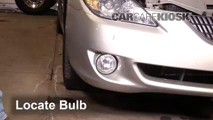 2004 Toyota Solara SE 2.4L 4 Cyl. Coupe Luces Luz de niebla (reemplazar foco)