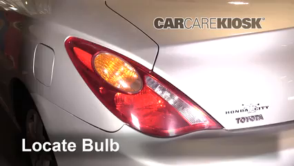 2004 Toyota Solara SE 2.4L 4 Cyl. Coupe Luces Luz de reversa (reemplazar foco)