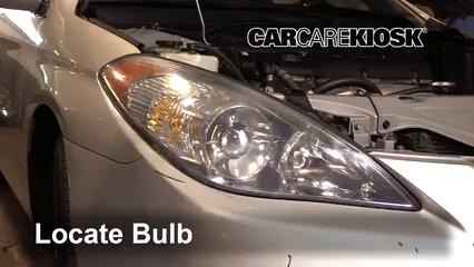 2004 Toyota Solara SE 2.4L 4 Cyl. Coupe Luces Luz de giro delantera (reemplazar foco)