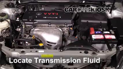 2004 Toyota Solara SE 2.4L 4 Cyl. Coupe Líquido de transmisión Agregar líquido