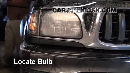 2004 Toyota Tacoma Pre Runner 3.4L V6 Crew Cab Pickup (4 Door) Luces Luz de giro delantera (reemplazar foco)