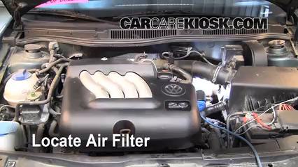 2004 Volkswagen Jetta GL 2.0L 4 Cyl. Sedan Air Filter (Engine)