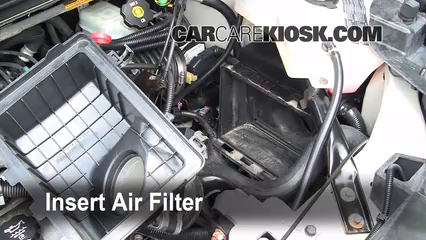 Air Filter HowTo  20022007 Buick Rendezvous  2004 Buick