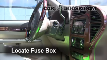 Interior Fuse Box Location: 2002-2007 Buick Rendezvous - 2005 Buick ...