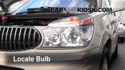 2005 Buick Rendezvous CX 3.4L V6 Lights Headlight (replace bulb)
