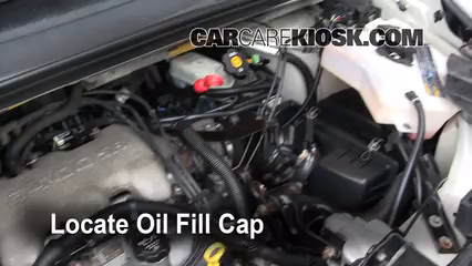 2005 Buick Rendezvous CX 3.4L V6 Oil Add Oil