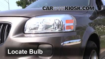 Front Turn Signal Change Buick Terraza (2005-2007) - 2005 Buick ...