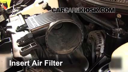 Control de filtro de aire de motor chevrolet express 1500 for Chevy express cabin air filter location