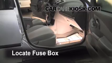 interior fuse box location: 2004-2008 chevrolet malibu