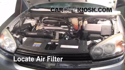 2005 Chevrolet Malibu 2.2L 4 Cyl. Air Filter (Engine) Replace