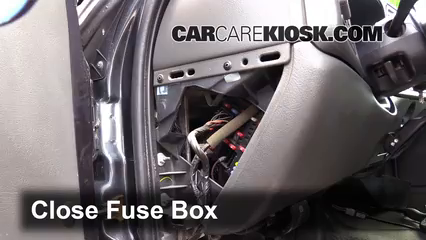 interior fuse box location: 1999-2007 gmc sierra 2500 hd - 2005 gmc sierra  2500 hd sle 6 6l v8 turbo diesel standard cab pickup (4 door)