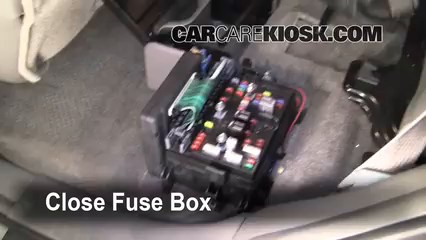 interior fuse box location 2002 2009 chevrolet trailblazer 2005 2005 Audi A4 Fuse Location