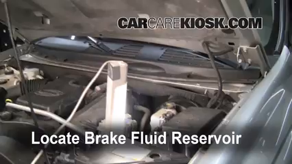 2005 Chevrolet Trailblazer LS 4.2L 6 Cyl. Brake Fluid