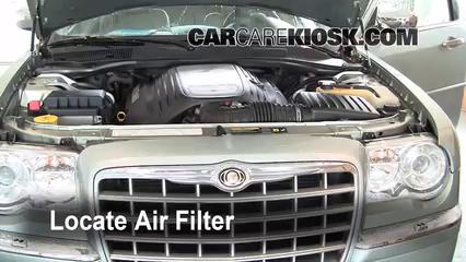 Air Filter How-To: 2005-2010 Chrysler 300 - 2005 Chrysler 300 C 5.7L V8