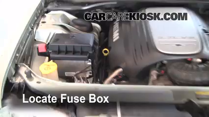 replace a fuse: 2005-2010 chrysler 300