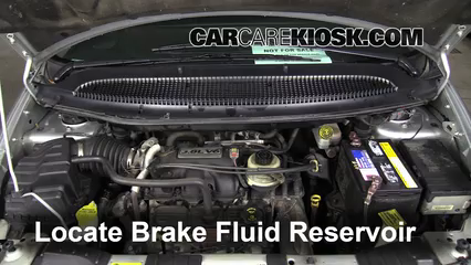 2005 Chrysler Town and Country Touring 3.8L V6 Brake Fluid