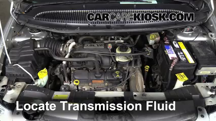 2005 Chrysler Town and Country Touring 3.8L V6 Transmission Fluid