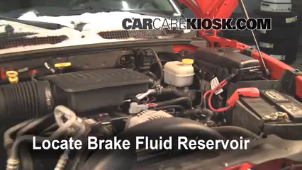 2005 Dodge Dakota SLT 4.7L V8 Crew Cab Pickup Brake Fluid