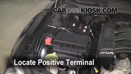 How To Jumpstart A 2006 2010 Dodge Charger 2006 Dodge Charger Sxt