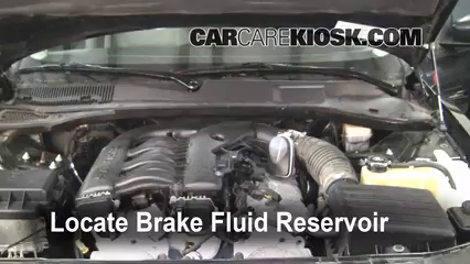 2005 Dodge Magnum SXT 3.5L V6 Brake Fluid Check Fluid Level