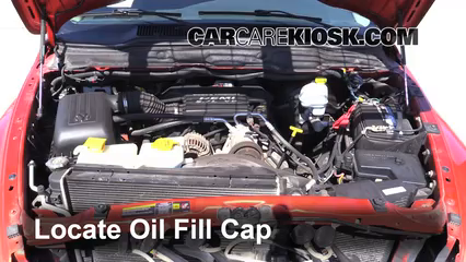 how many quarts of oil for 05 dodge ram 1500