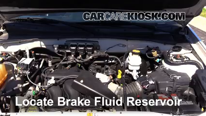 2005 Ford Escape Limited 3.0L V6 Brake Fluid