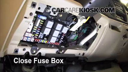 Interior Fuse Box Location 2000 2005 Ford Excursion