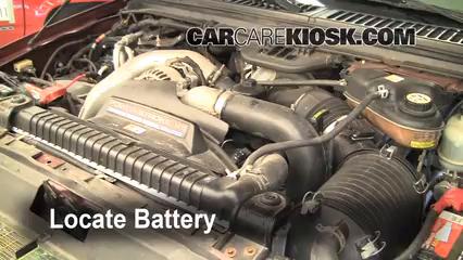 2006 ford f250 diesel battery