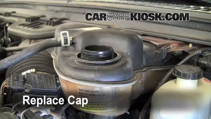 Replace Cap Secure The Coolant Reservoir Cap